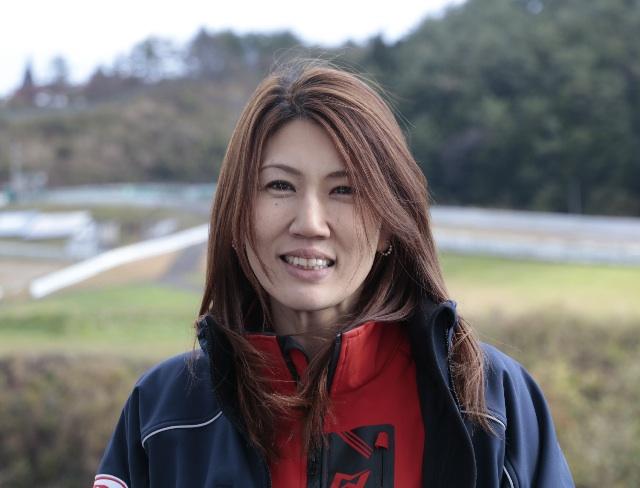 全日本レディースクラス初代チャンピオン、西村亜弥選手。