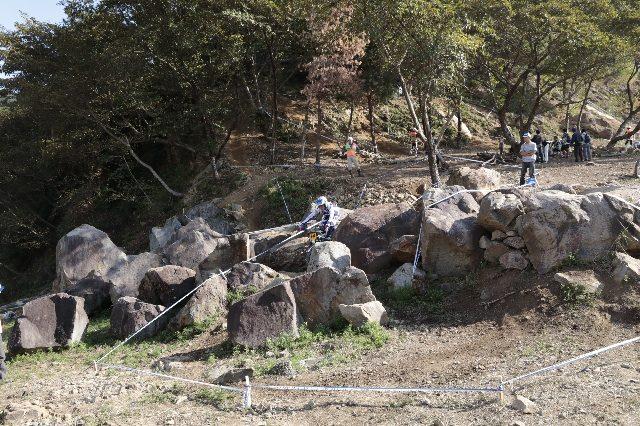 第5セクションの岩岩岩…