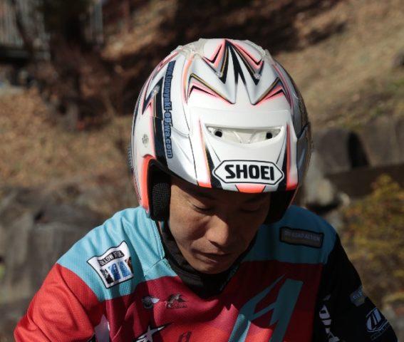 苦労の多い(?)(笑)ライダーのまとめ役、開発テストを担当する小川友幸選手。
